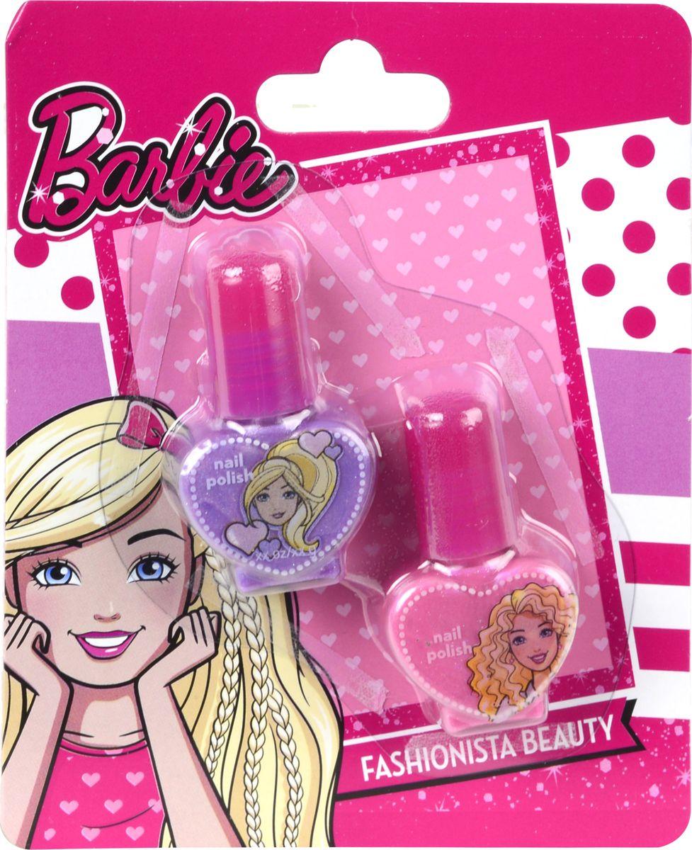 Markwins Игровой набор детской декоративной косметики Barbie 97073519707351Состав набора: лаки для ногтей на водной основе 2 шт.