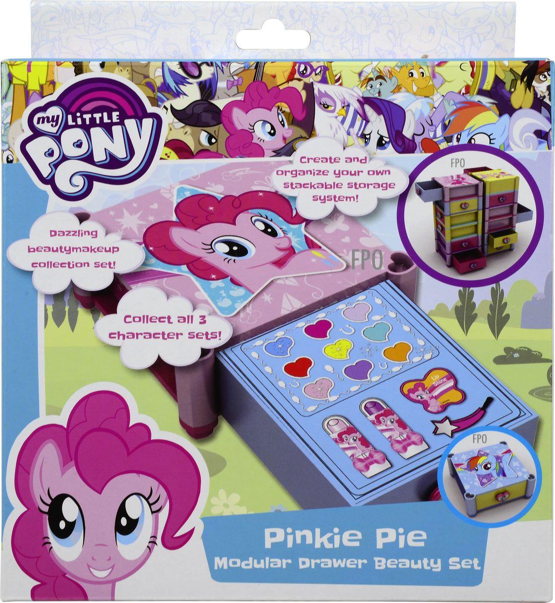 Markwins Игровой набор детской декоративной косметики My Little Pony 97115519711551Состав набора: палитра блесков для губ из 9 оттенков, губная помада в футляре 2 шт., блеск для губ в баночке 1 шт., кисть 1 шт.