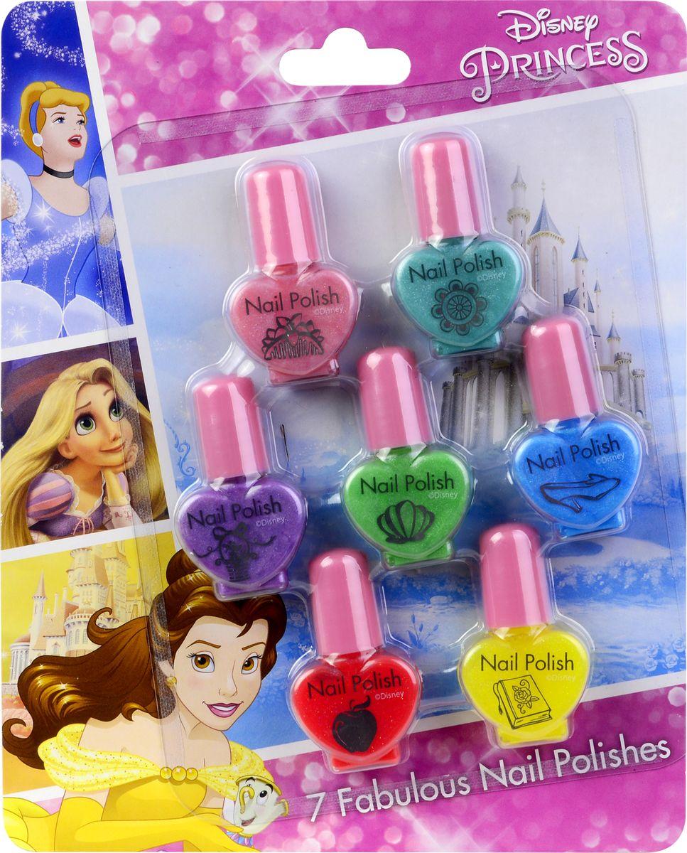 Markwins Игровой набор детской декоративной косметики Princess 97119711Состав набора: лаки для ногтей на водной основе 7 шт.