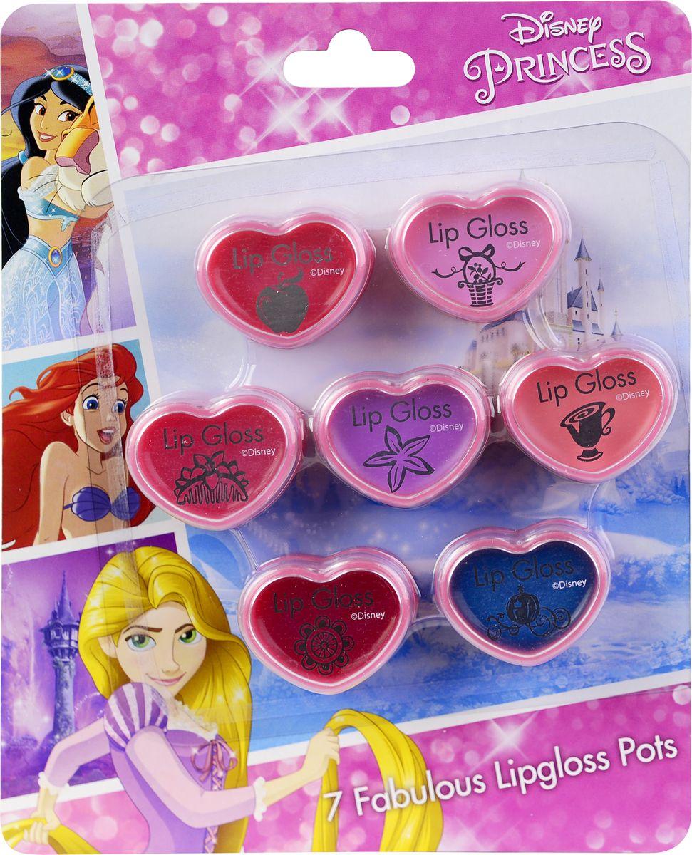 Markwins Игровой набор детской декоративной косметики Princess 97157519715751Состав набора: блески для губ в баночках 7 шт.