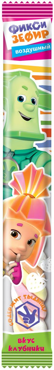 Конфитрейд Фиксики зефирная косичка, 30 шт по 12 гУТ21710Зефирная косичка со вкусом клубники в прозрачной пленке с цветной печать