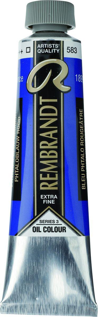 Royal Talens Краска масляная Rembrandt цвет 583 Сине-красный фталоцианин 40 мл01055832Масляные краски Rembrandt – это профессиональные краски исключительно высокого качества и традиций производства с 1899 г. Благодаря высокой концентрации натурального пигмента достигается чистота, насыщенность и глубина цвета. Широкая цветовая палитра и отличный баланс укрывистых и прозрачных оттенков позволят воплотить любые замыслы художника. Работы, написанные масляными красками Rembrandt, на долгие годы сохранят свое великолепие, а цвета не потускнеют и не потеряют интенсивности.Уровень Artist. Основные характеристики:Оптимальная интенсивность цвета с высокой концентрацией пигмента (не содержит наполнителей)Максимальная светостойкость (гарантия сохранения цвета у большинства оттенков – 100 лет)Единая степень вязкостиПалитра из 120 цветов