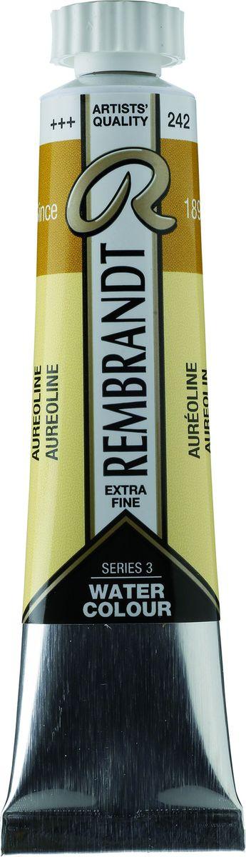 Royal Talens Акварель Rembrandt цвет 242 Кобальт желтый 20 мл05042420Акварельные краски Rembrandt – это профессиональная акварель, обладающая всеми качествами, которые необходимы современным художникам. Каждый цвет состоит лишь из одного сконцентрированного пигмента и гуммиарабика (аравийской камеди), созданного по уникальной технологии. Краски отличаются высокой степенью светостойкости, прозрачности, обеспечивают отличную цветопередачу. Акварель Rembrandt хорошо ложится на бумагу, позволяя художнику контролировать расход краски с любой сложной фактурой.Уровень Artist.