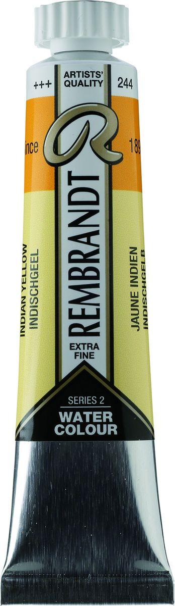 Royal Talens Акварель Rembrandt цвет 244 Желтый индийский каштановый 20 мл05042440Акварельные краски Rembrandt – это профессиональная акварель, обладающая всеми качествами, которые необходимы современным художникам. Каждый цвет состоит лишь из одного сконцентрированного пигмента и гуммиарабика (аравийской камеди), созданного по уникальной технологии. Краски отличаются высокой степенью светостойкости, прозрачности, обеспечивают отличную цветопередачу. Акварель Rembrandt хорошо ложится на бумагу, позволяя художнику контролировать расход краски с любой сложной фактурой.Уровень Artist.