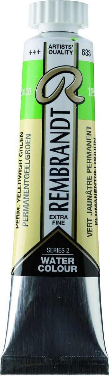 Royal Talens Акварель Rembrandt цвет 633 Желто-зеленый устойчивый 20 мл05046330Акварельные краски Rembrandt – это профессиональная акварель, обладающая всеми качествами, которые необходимы современным художникам. Каждый цвет состоит лишь из одного сконцентрированного пигмента и гуммиарабика (аравийской камеди), созданного по уникальной технологии. Краски отличаются высокой степенью светостойкости, прозрачности, обеспечивают отличную цветопередачу. Акварель Rembrandt хорошо ложится на бумагу, позволяя художнику контролировать расход краски с любой сложной фактурой.Уровень Artist.
