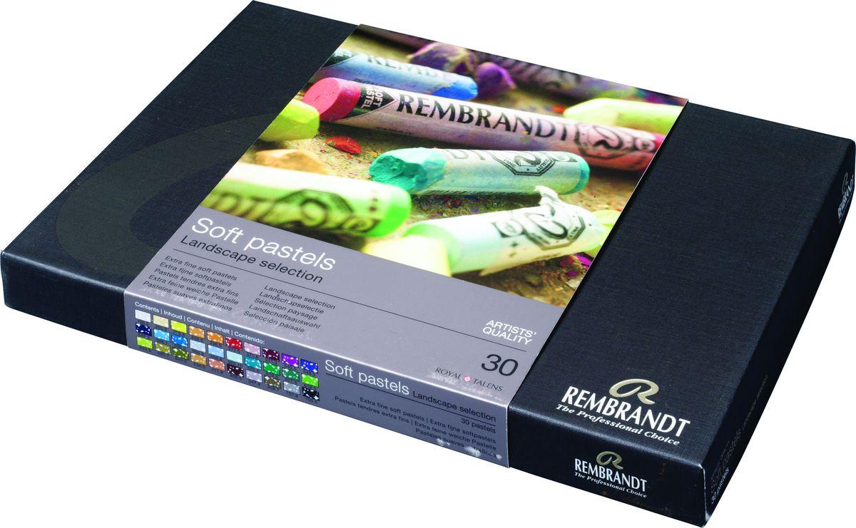 Royal Talens Набор пастели Rembrandt Базовый Ландшафт 30 цветов -  Мелки и пастель