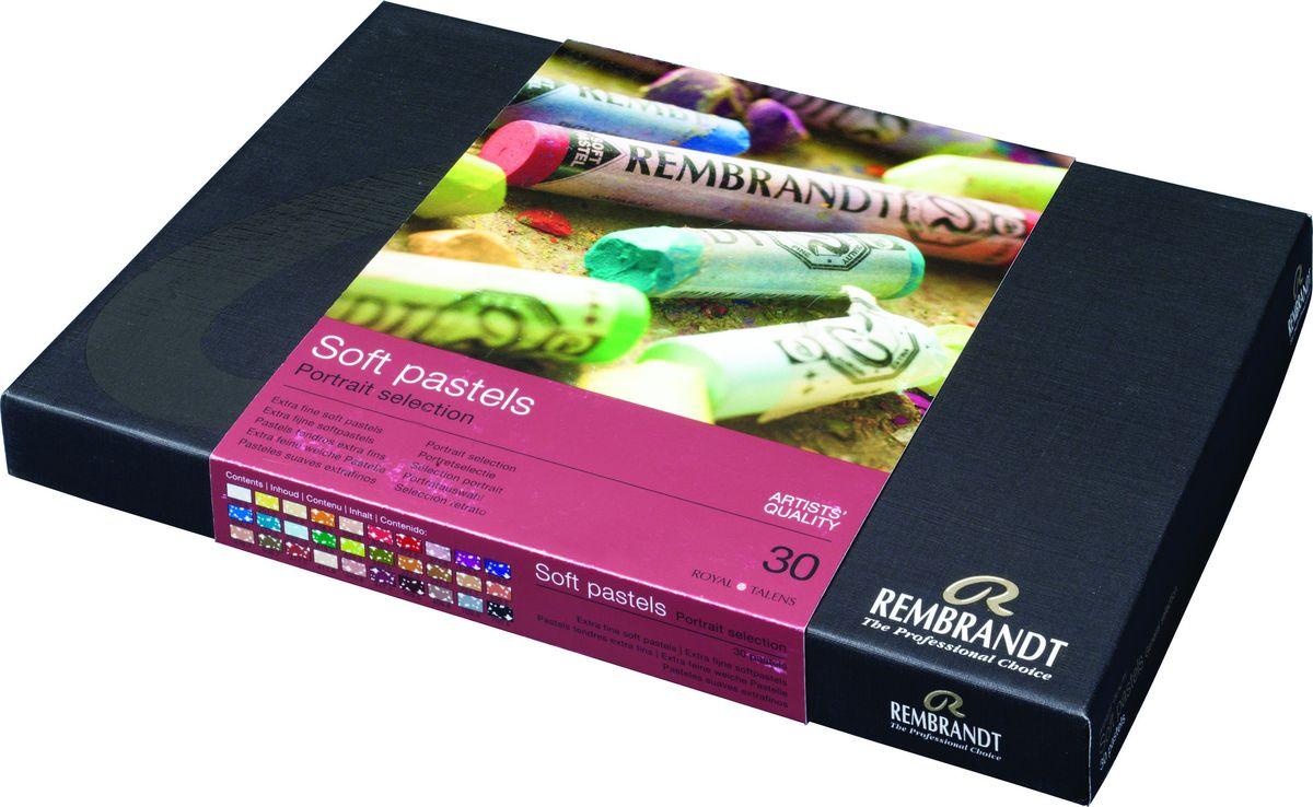 Royal Talens Набор пастели Rembrandt Базовый Портрет 30 цветов -  Мелки и пастель