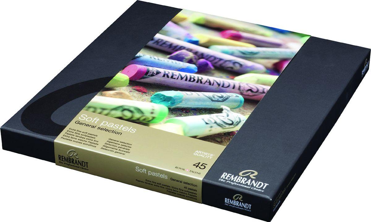 Royal Talens Набор пастели Rembrandt Традиционный 45 цветов31823047Профессиональная сухая пастель Rembrandt – это высококачественная серия сухой пастели как для профессионалов, так и для художников-любителей. ПастельRembrandtпроизводится из чистейших пигментов с великолепным по качеству закрепителем из каолиновой глины, имеет высокий уровень светостойкости, хорошо ложится на бумагу практически любого типа, мелки не крошатся и не ломаются.Максимальная концентрация пигмента способствует оптимальной интенсивности цвета.