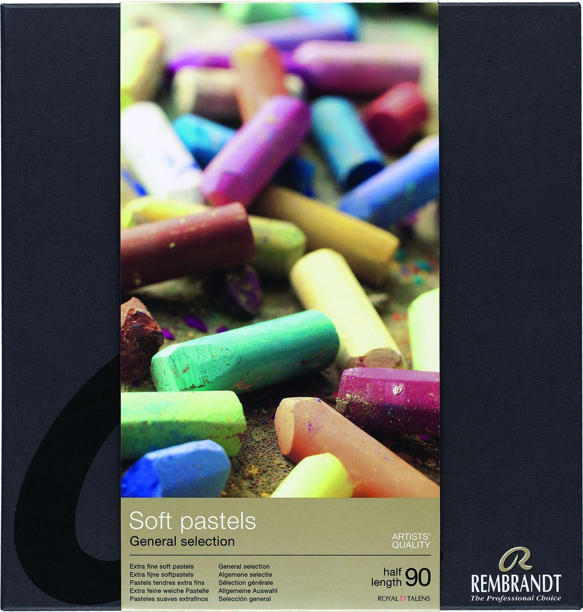 Royal Talens Набор пастели Rembrandt Профессиональный 90 цветов -  Мелки и пастель