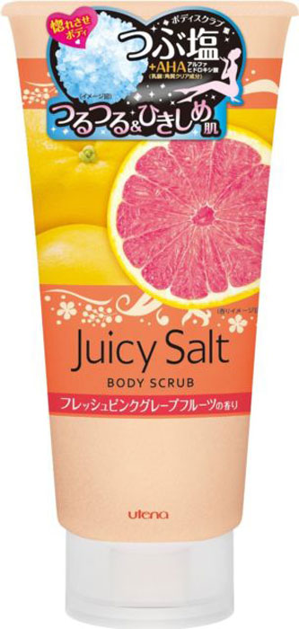Utena Скраб Juicy Salt для тела на основе соли с ароматом розового грейпфрута 300гр393219Скраб для тела с ароматом розового грейпфрута делает кожу светлой, гладкой и идеально чистой. Натуральные гранулы соли и специальный компонент (альфагидроксикислота), содержащиеся в данном скрабе, устраняют старые ороговевшие клетки кожи, очищают поры и убирают излишний кожный жир. Особые вещества скраба поддерживают кожу в увлажненном состоянии даже после приема ванны.Уважаемые клиенты!Обращаем ваше внимание на возможные изменения в дизайне упаковки. Качественные характеристики товара остаются неизменными. Поставка осуществляется в зависимости от наличия на складе.