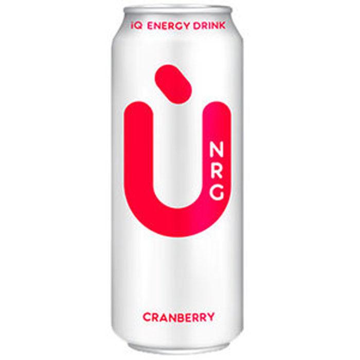 U NRG Cranberry энергетический напиток, 0,5 л