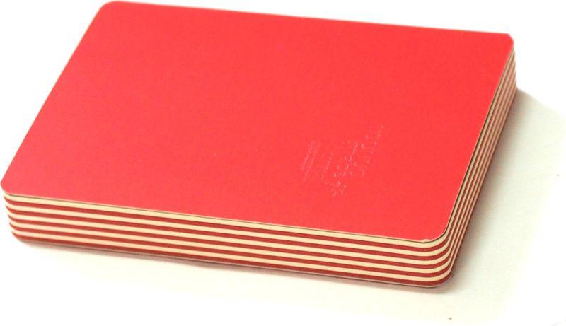 Карамба Блокнот цвет красный 160 листов003219