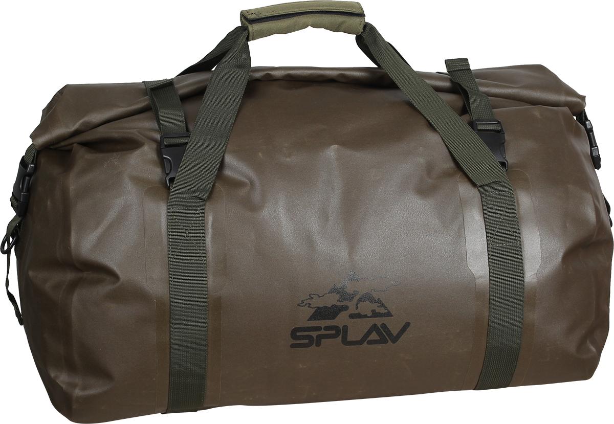 Гермосумка Сплав  Duffel , цвет: олива, 32 х 32 х 56 см - Туристические сумки