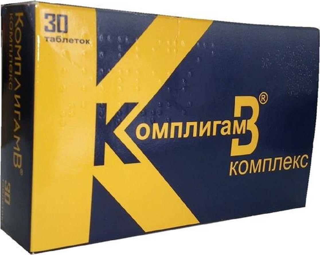 КомплигамВ Комплекс таблетки №30219622КомплигамВ оказывает поливитаминное, анальгезирующее, местноанестезирующее действие. Сфера применения: ВитаминологияМакро- и микроэлементы