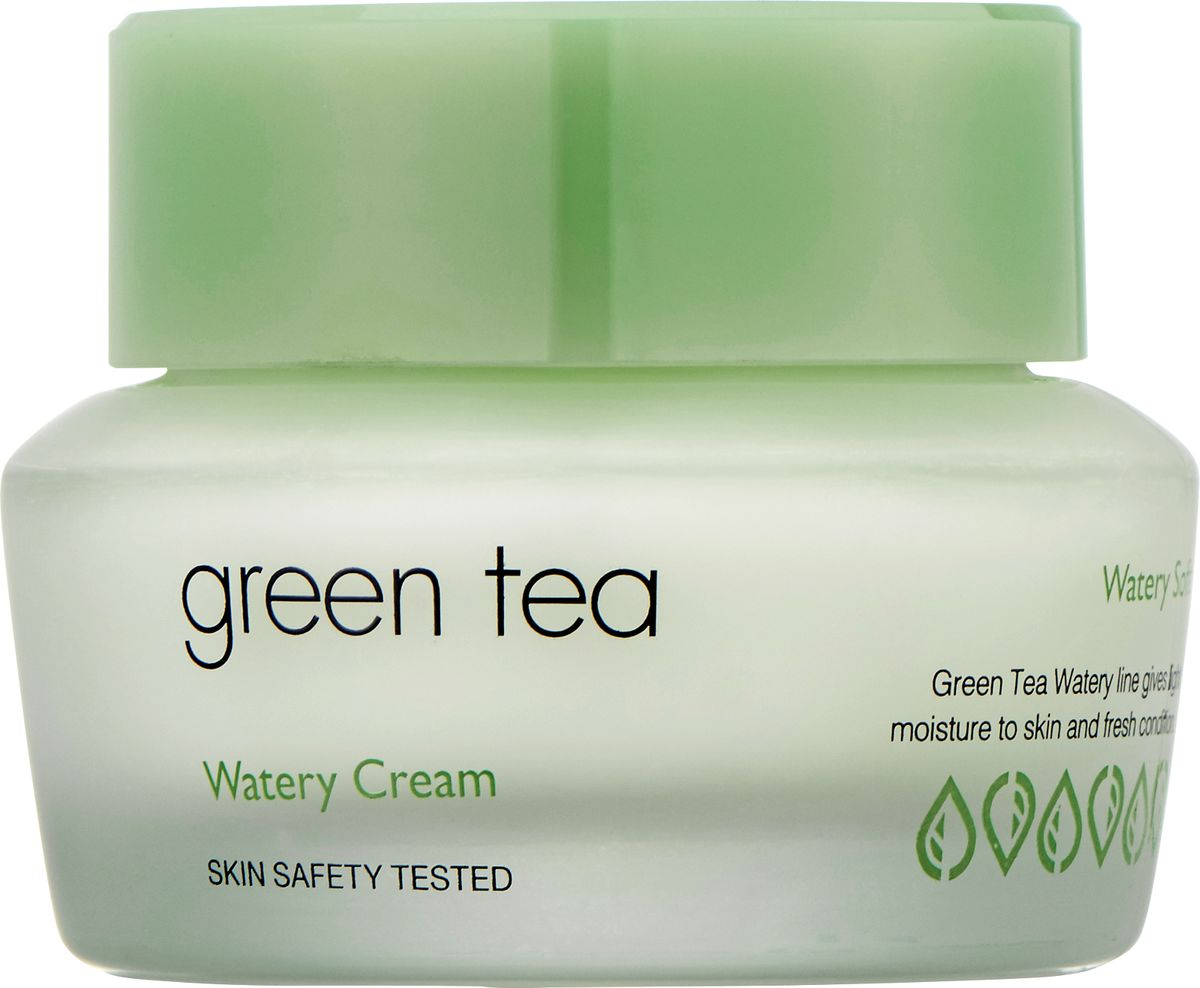 Its Skin КремдляжирнойикомбинированнойкожиGreen Tea watery,50 мл6018001897Крем для лица содержит экстракт зеленого чая, бамбука, сливы, ириса, огурца, настой кипариса, комплекс фруктовых экстрактов и т.д. Серия Сгееn Теа основана на экстракте зеленого чая, направлена на эффективное увлажнение и сохранение свежести кожи. Придает коже энергию и жизненные силы, обеспечивает сияние, нормализует работу сальных желез, ухаживает за порами. Улучшает текстуру кожи, придавая ей гладкость и мягкость. Крем для лица сохраняет и поддерживает оптимальную увлажненность кожи. Успокаивает и нормализует ее состояние. Обладает бактерицидными, общеукрепляющим свойствами, уменьшает жирность кожи.
