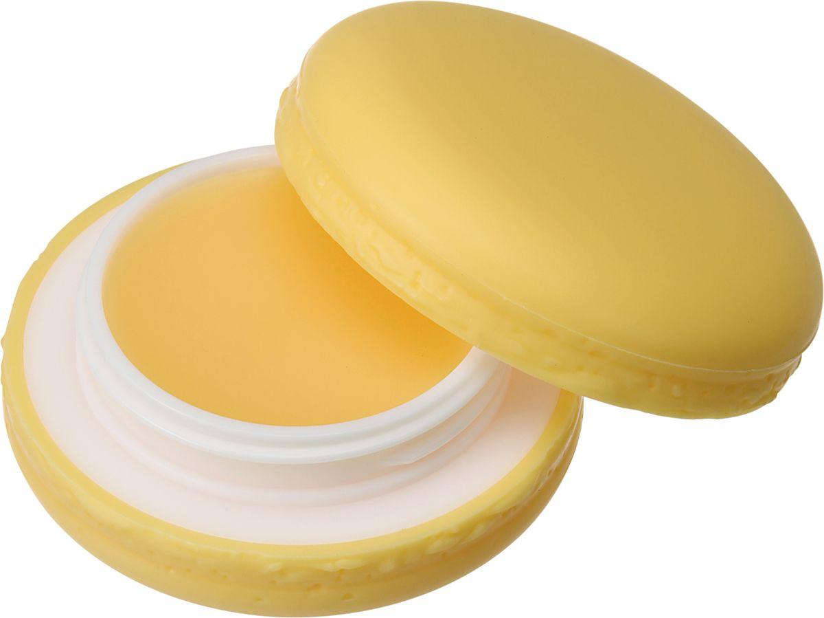 Its Skin БальзамдлягубMacaron,тон04,ананас,9 г6018001266Бальзам для губ содержит витамин Е, витамина А, витамин С , масло ши, масло какао, экстракт хризантемы и т.д. Обеспечивает интенсивное увлажнение и питание кожи губ, улучшает текстуру, восстанавливает эластичность кожи. Обладает нежным фруктовым ароматом.