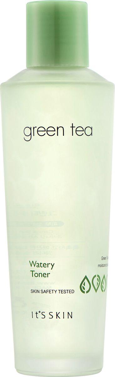 Its Skin ТонердляжирнойикомбинированнойкожиGreen Tea watery,150 мл6018001894Тонер содержит экстракт зеленого чая, бамбука, сливы, ириса, огурца, настой кипариса, комплекс фруктовых экстрактов и т.д. Серия Сгееn Теа основана на экстракте зеленого чая, направлена на эффективное увлажнение и сохранение свежести кожи. Придает коже энергию и жизненные силы, обеспечивает сияние, нормализует работу сальных желез, ухаживает за порами. Тонер улучшает микроциркуляцию крови и уменьшает отечность. Снабжает клетки кислородом, усиливает защитные свойства кожи. Поддерживает нормальный рН кожи. Подготавливает к дальнейшему уходу.