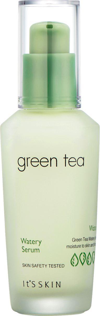 Its Skin СывороткадляжирнойикомбинированнойкожиGreen Tea watery,40 мл6018001896Сыворотка содержит экстракт зеленого чая, бамбука, сливы, ириса, огурца, настой кипариса, комплекс фруктовых экстрактов и т.д. Серия Сгееn Теа основана на экстракте зеленого чая, направлена на эффективное увлажнение и сохранение свежести кожи. Придает коже энергию и жизненные силы, обеспечивает сияние, нормализует работу сальных желез, ухаживает за порами. Улучшает текстуру кожи, придавая ей гладкость и мягкость. Сыворотка обладает ранозаживляющими свойствами. Помимо этого оказывает бактерицидное воздействие, ликвидирует сухость кожи.