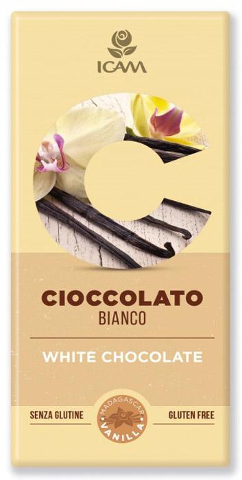 Icam Vanini шоколад классик белый, 100 гК7203Шоколад ICAM Классик белый 100 г – это плод вечной страсти, передаваемый с 1946 года из поколения в поколение семьей Agostoni, - виртуозами по производству подлинного итальянского шоколада. Высококачественные ингредиенты. Высококачественные ингредиенты. Продукция не содержит глютен. Привлекательный дизайн упаковки.