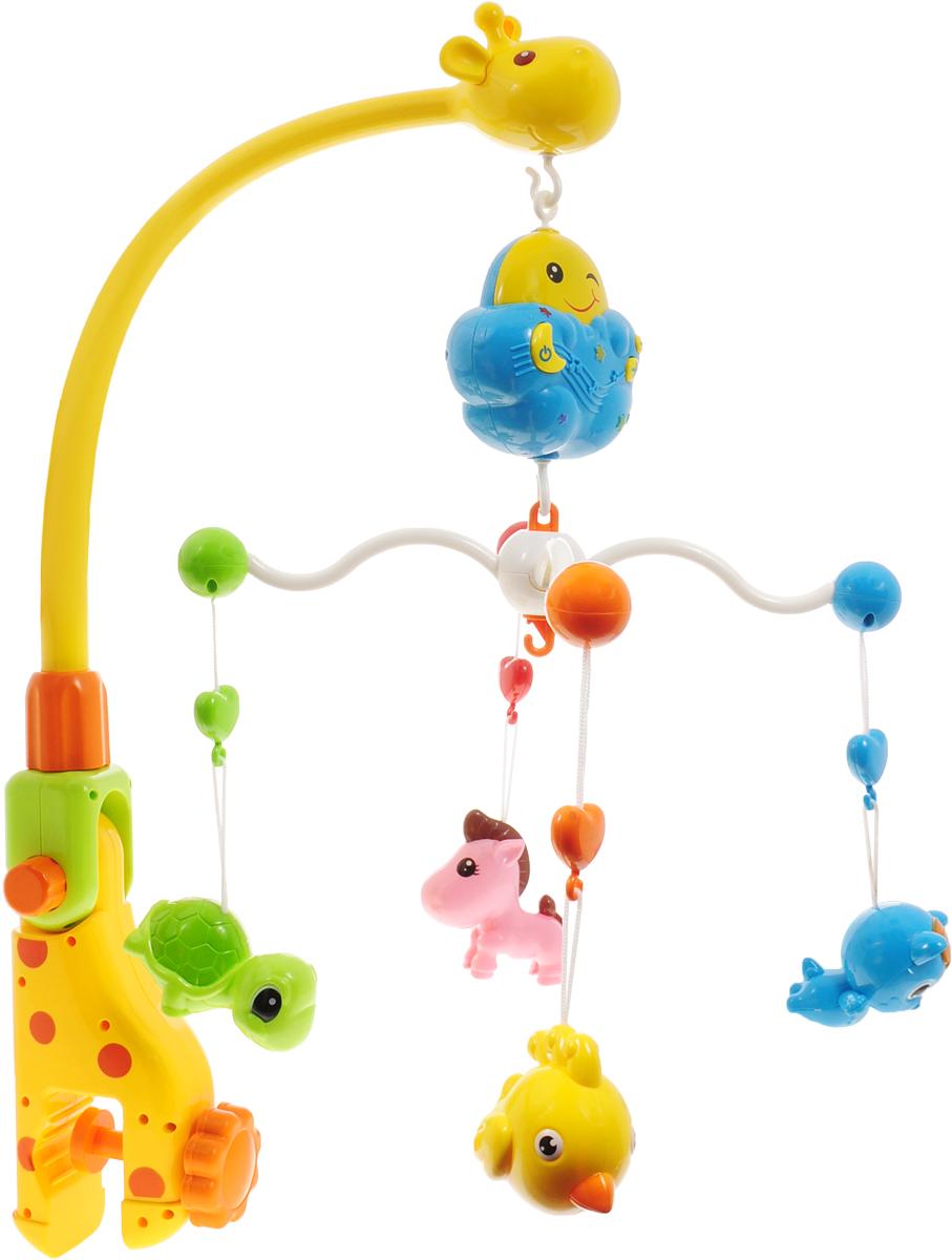 Shantou Gepai Мобиль музыкальный Зоопарк - Игрушки для малышей