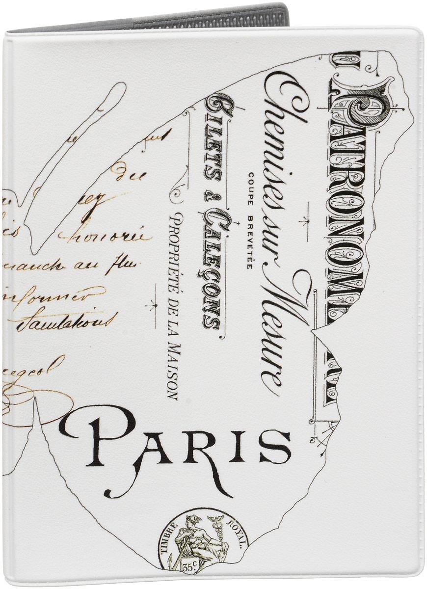 Обложка для паспорта Mitya Veselkov Бабочка в Париже, цвет: черный, белый. OZAM420OZAM420Обложка для паспорта Mitya Veselkov выполнена из приятного наощупь качественного винила. Такая обложка не только поможет сохранить внешний вид ваших документов и защитит их от повреждений, но и станет стильным аксессуаром, идеально подходящим вашему образу. Яркая и оригинальная обложка подчеркнет вашу индивидуальность и изысканный вкус. Обложка для паспорта стильного дизайна может быть достойным и оригинальным подарком. Обложка подходит как для российского, так и для заграничного паспорта. Размер: 13,8 x 9,5 см.