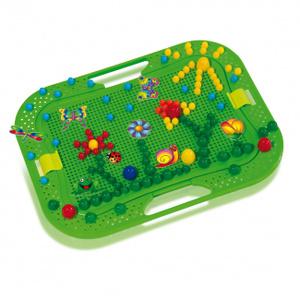 Настольная игра Летний сад. Мозайка, 200 деталей в чемоданчике