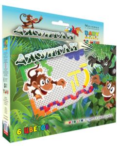 Настольная игра Джунгли. Тотошка Мозаика