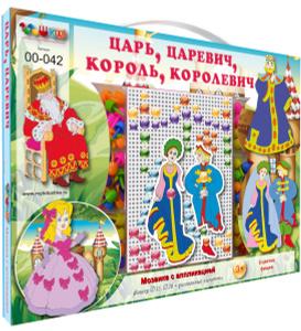 Настольная игра Царь, Царевич, Король, Королевич. Мозаика
