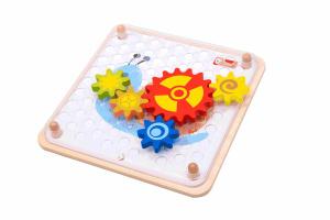 Настольная игра Шустрые шестеренки. Мозаика-конструктор