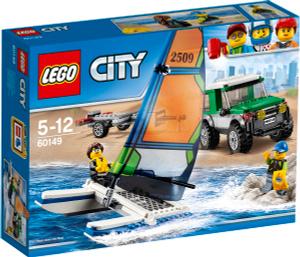 Купить LEGO City Конструктор Внедорожник с прицепом для катамарана 60149 - детские товары LEGO в интернет-магазине OZON.ru, цена lego city конструктор внедорожник с прицепом для катамарана 60149