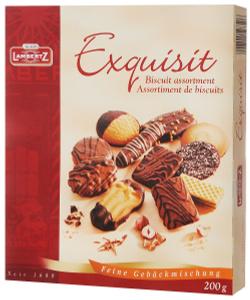 Lambertz Exquisit печенье ассорти, 200 <b>г</b> - Что Где Почём