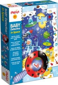 Настольная игра Сыщик в космосе. Пазл для малышей