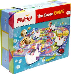 Настольная игра Веселые гуси. Обучающая игра