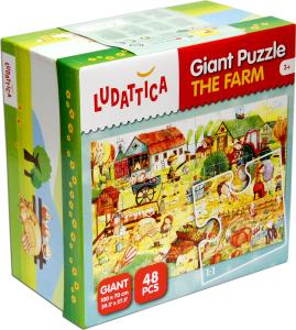 Настольная игра Ферма. Пазл для малышей