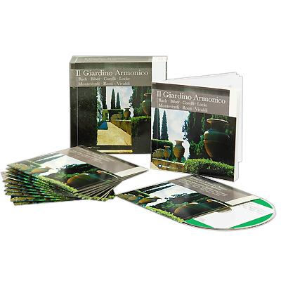 Il Giardino Armonico. Bach / Biber / Corelli / Locke / Monteverdi / Rossi / Vivaldi (11 CD) Warner Classics,Торговая Фирма