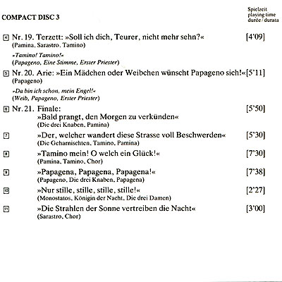 Herbert Von Karajan. Mozart. Die Zauberflote (3 CD) ООО