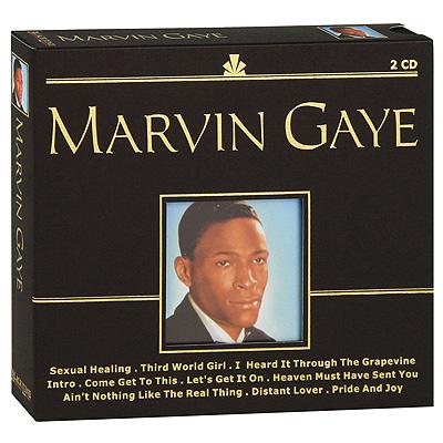 Marvin Gaye.  Black Line (2 CD) Promo Sound Ltd.,ООО Музыка