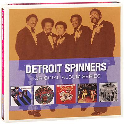 Detroit Spinners.  Original Album Series (5 CD) Rhino Entertainment Company,Торговая Фирма