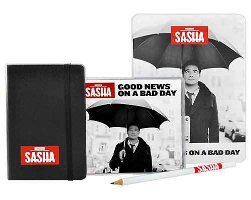 Sasha.  Good News On A Bad Day (Limitierte Fan Box) (CD + DVD) Warner Music Group Company,Торговая Фирма