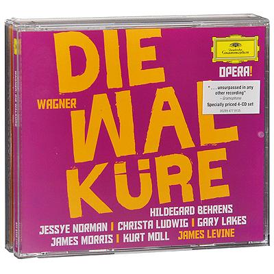 James Levine.  Wagner.  Die Walkure (4 CD) Deutsche Grammophon GmbH,ООО