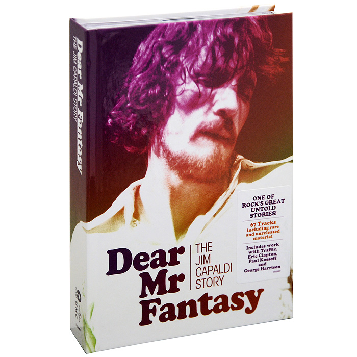 Jim Capaldi.  Dear Mr.  Fantasy.  The Jim Capaldi Story (4 CD)