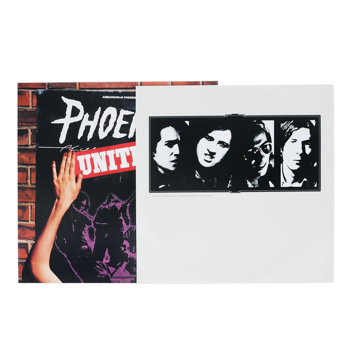 Phoenix.  United (LP) Warner Music,Parlophone
