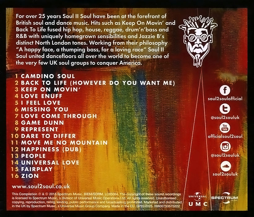 Soul II Soul.  Back To Life:  The Collection ООО