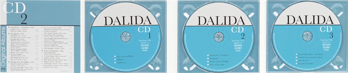 Dalida.  9 Original Albums (3 CD) Intense Media Ltd.,Концерн
