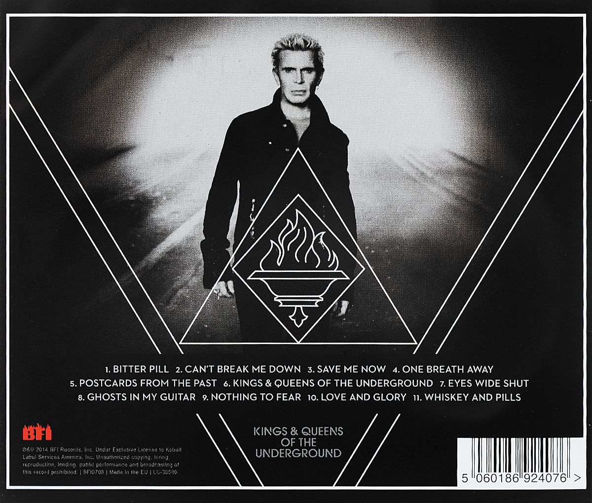 Billy Idol.  Kings& Queens Of The Underground Волтэкс-инвест,BFI Records