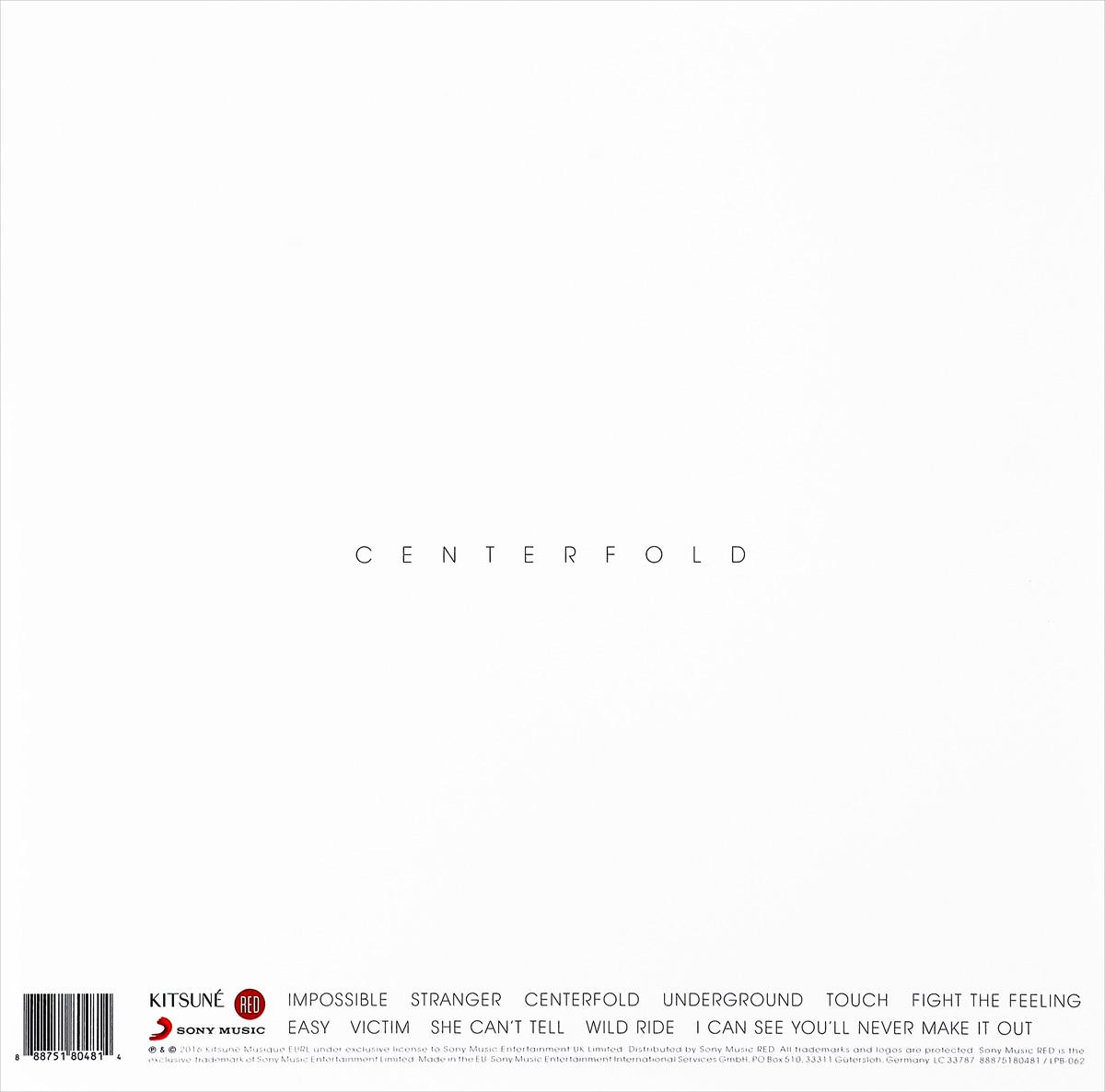Mothxr.  Centerfold (LP + CD) Sony Music Entertainment UK Limited,Warner Music