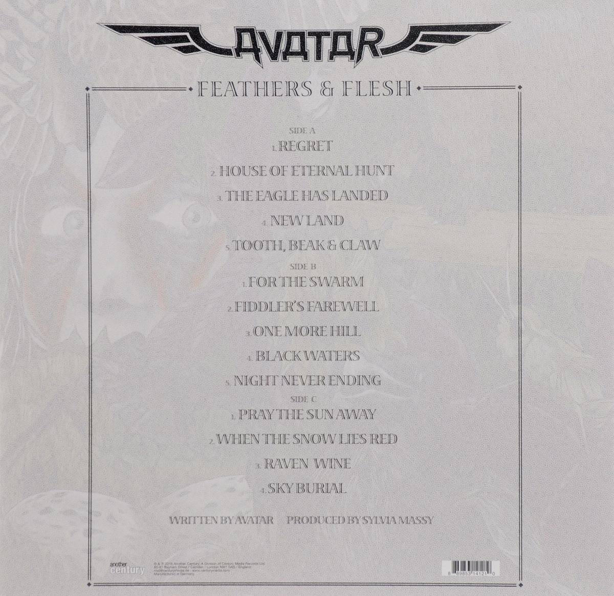 Avatar.  Feathers& Flesh (2 LP) Warner Music,Another Century