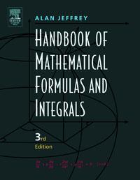 Handbook of Mathematical Formulas and Integrals, handbook of mathematical fluid dynamics 1