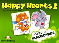 Jenny Dooley, Virginia Evans Happy Hearts 2: Picture Flashcards
