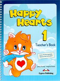 Jenny Dooley, Virginia Evans Happy Hearts 1: Teacher's Book virginia ironside nein ich will keinen seniorenteller